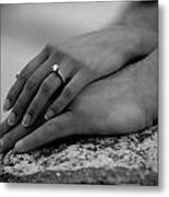 Love's Touch Metal Print