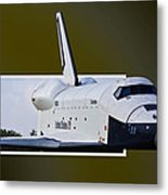Low Pass Metal Print by Lawrence Ott