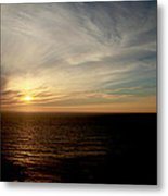 Low Sun Over The Pacific Metal Print