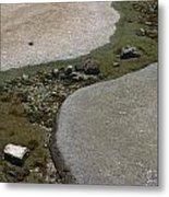Low Tide Water 3 Metal Print