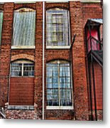 Lowe Mill Art Studio Building Huntsville Alabama Usa Metal Print