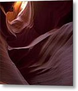 Lower Antelope Eleven Am On The Dot Metal Print