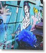 Lower East Side Street Art Metal Print
