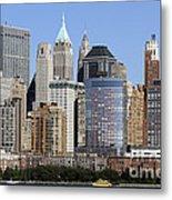 Lower Manhattan New York City Skyline Metal Print