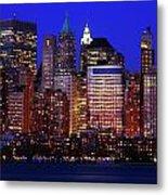 Lower Manhattan Metal Print