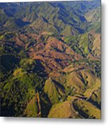 Lowland Tropical Rainforest Cleared Metal Print