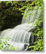 Loyalsock Waterfall Metal Print