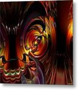 Lsd Dragon Inside Out Fx  Metal Print