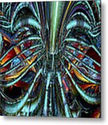 Lsd Nigthmare And Trips Fx  Metal Print