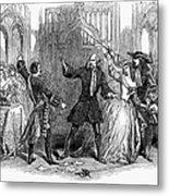 Lucia Di Lammermoor, 1847 Metal Print