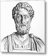 Lucius Commodus (161-192 A.d.) Metal Print by Granger