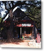 Luckenbach Texas - II Metal Print by Susanne Van Hulst