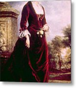 Lucy Ware Webb Hayes 1831-1889, First Metal Print