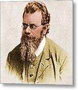 Ludwig Boltzmann, Austrian Physicist Metal Print