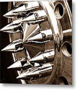 Lug Nuts Metal Print