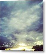 Luke 1:78 Esv  Because Of The Tender Metal Print by Kel Hill