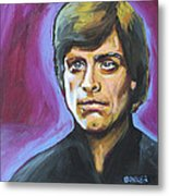 Luke Skywalker Metal Print