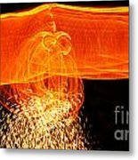 Luminosity Metal Print