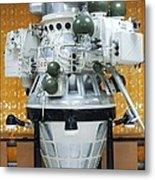 Luna Orbiter Metal Print