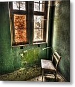 Lunatic Seat Metal Print by Nathan Wright