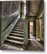 Lunatic Stairs Metal Print by Nathan Wright