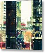 Lunch Hour Metal Print