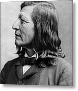 Luther Standing Bear Metal Print