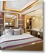 Luxury Bedroom Metal Print