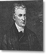 Lyman Beecher (1775-1863) Metal Print