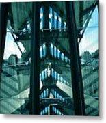 Lyon Gare France Architecture Metal Print