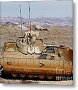 M2 Bradley Fighting Vehicle Metal Print