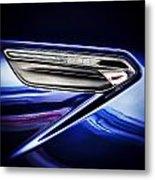M6 Badge Metal Print