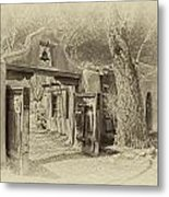 Mabel's Gate As Antique Print Metal Print