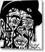 Mac Dre Metal Print