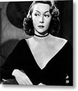 Macao, Gloria Grahame, 1952 Metal Print