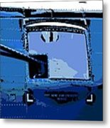 Machine Gun Metal Print