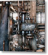 Machinist - My Really Cool Job Metal Print by Mike Savad