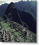 Machu Picchu, A Pre-columian Inca Ruin Metal Print