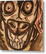 Mad Cow Disease Metal Print by Shadrach Ensor