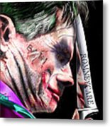 Mad Men Series 2 Of 6 - Romney The Joker Metal Print