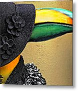 Madame Toucan Of New Orleans Metal Print