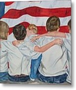 Made In The Usa Metal Print