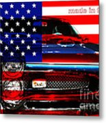 Made In The Usa . Pontiac Gto Metal Print