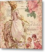 Mademoiselle Couture Metal Print