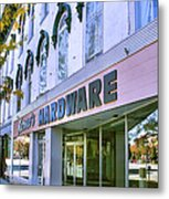 Madison Shops I Metal Print