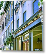 Madison Shops IIi Metal Print