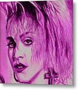Madonna Metal Print by Michael Mestas
