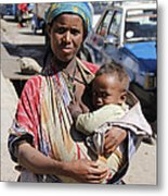 Madonna Of Addis Ababa  Metal Print