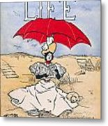 Magazine: Life, 1897 Metal Print