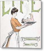 Magazine: Life, 1903 Metal Print